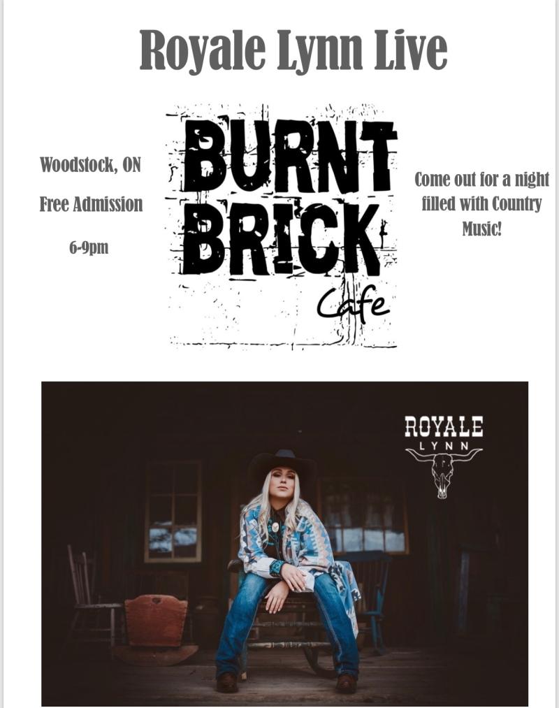 Burnt Brick Poster