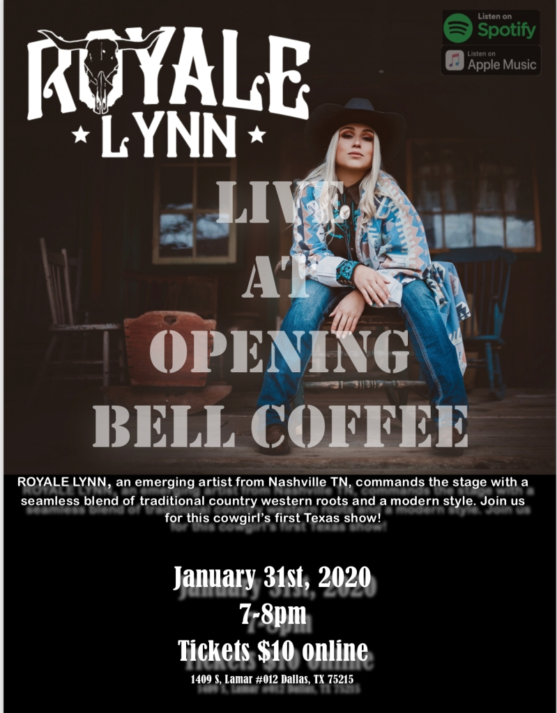 Opening Bell Coffee Poster
